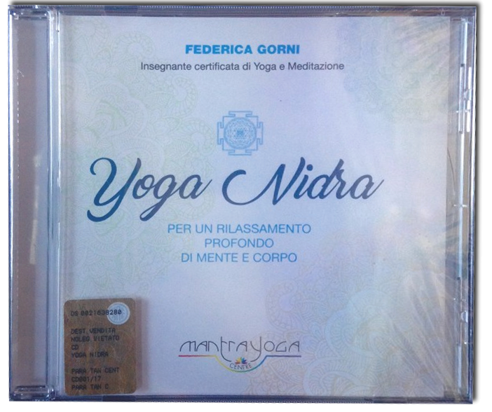 CD di Mantra Yoga e Yoga Nidra